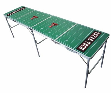 Texas Tech 2x8 Tailgate Table