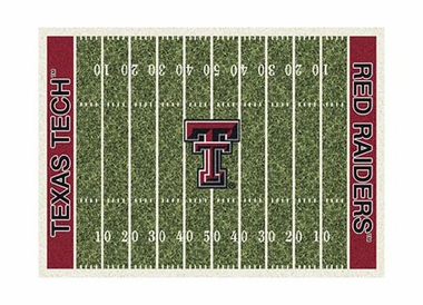 "Texas Tech 3'10"" x 5'4"" Premium Field Rug"