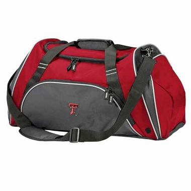 Texas Tech Action Duffle (Color: Red)