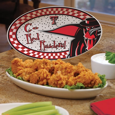 Texas Tech Gameday Ceramic Platter
