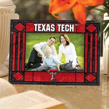 Texas Tech Landscape Art Glass Picture Frame