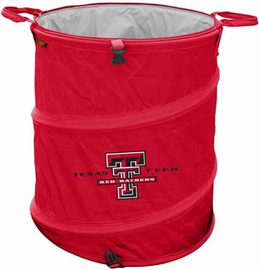 Texas Tech Light Duty Trashcan