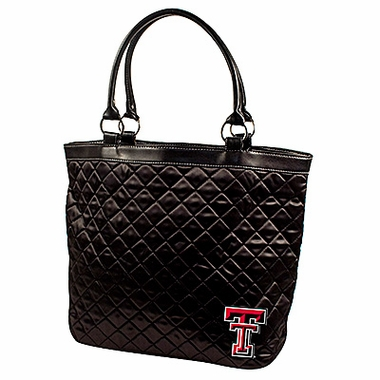 Texas Tech Quilted Tote