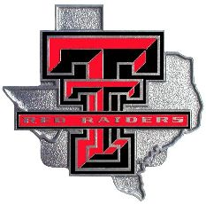 Texas Tech Red Raiders Hitch Cover Class 3