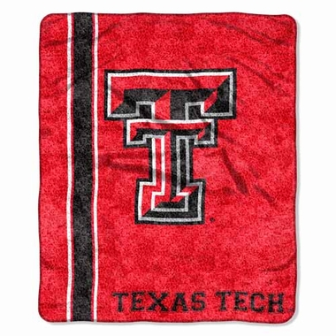 Texas Tech Super-Soft Sherpa Blanket