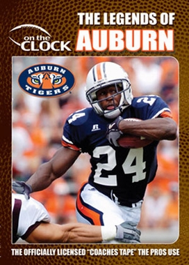 The Legends of the Auburn Tigers DVD