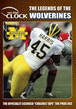 The Legends of the Michigan Wolverines DVD