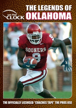 The Legends of the Oklahoma Sooners DVD