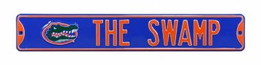 The Swamp Street Sign