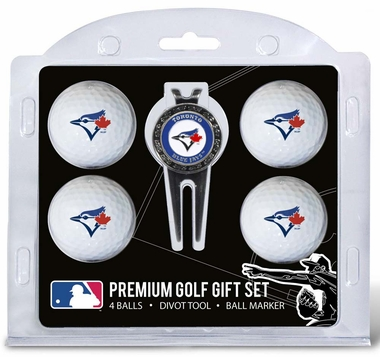 Toronto Blue Jays 4 Ball and Divot Tool Set