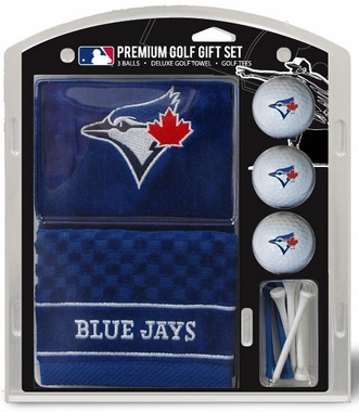 Toronto Blue Jays Embroidered Towel Golf Gift Set