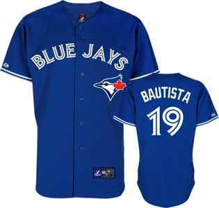 Toronto Blue Jays Jose Bautista Replica Player Jersey (Alternate) - XX-Large