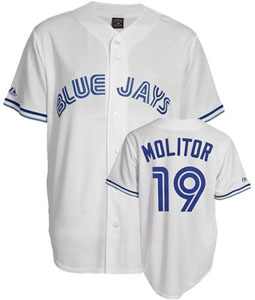 Toronto Blue Jays Paul Molitor Replica Throwback Jersey - Medium