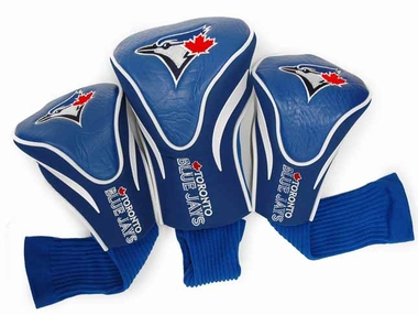 Toronto Blue Jays Set of Three Contour Headcovers