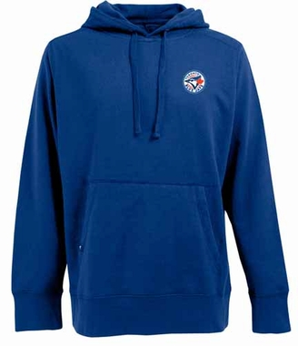 Toronto Blue Jays Mens Signature Hooded Sweatshirt (Color: Royal)
