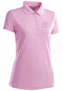 Toronto Blue Jays Womens Pique Xtra Lite Polo Shirt (Color: Pink) - X-Large
