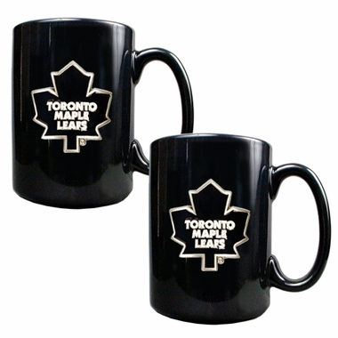 Toronto Maple Leafs 2 Piece Coffee Mug Set
