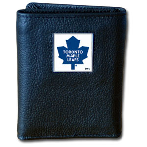 Toronto Maple Leafs Leather Trifold Wallet (F)