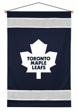 Toronto Maple Leafs SIDELINES Jersey Material Wallhanging