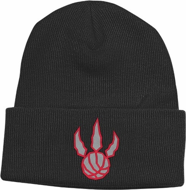 Toronto Raptors Basic Logo Cuffed Knit Hat
