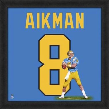 "Troy Aikman, UCLA Bruins Uniframe 20"" x 20"""