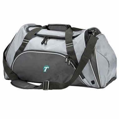 Tulane Action Duffle (Color: Grey)