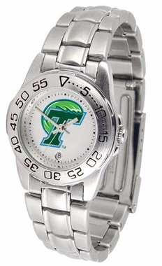 Tulane Sport Women's Steel Band Watch