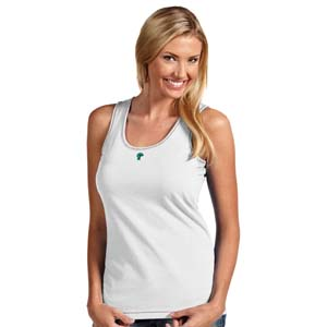 Tulane Womens Sport Tank Top (Color: White) - Large