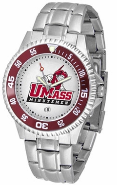 Umass Competitor Men's Steel Band Watch