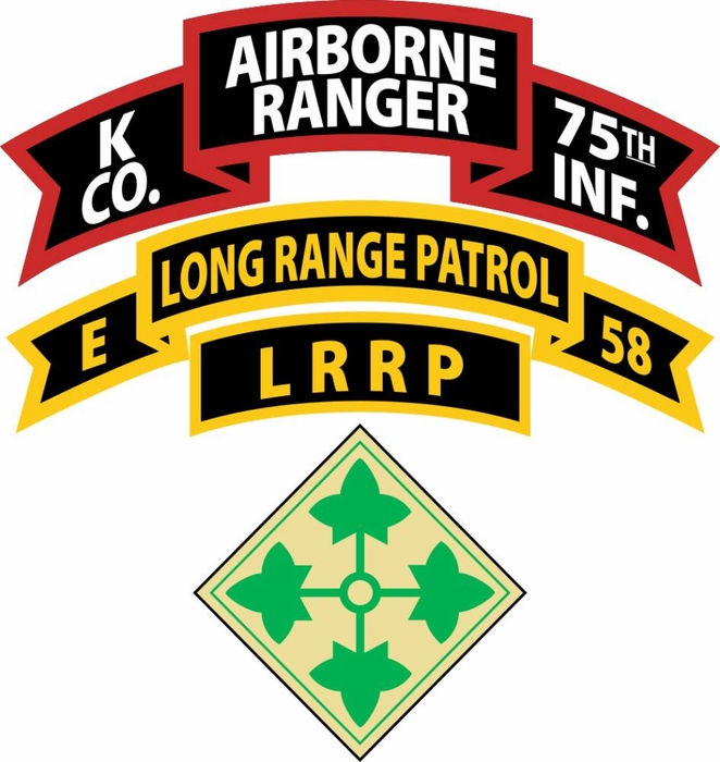 Us Army Company K Ranger 75th Infantry Airborne Decal