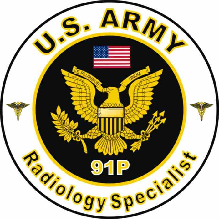US Army MOS 91P Radiology Specialist