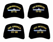 US Navy Aircraft Carrier Caps