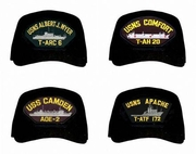 US Navy Auxiliary Ships Caps