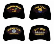 US Navy Base And Squadron Caps