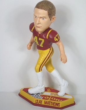 USC Clay Matthews Thematic Base Bobblehead
