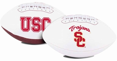 USC Trojans Full Size Embroidered Signature Series Football