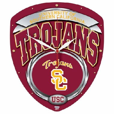 USC High Definition Wall Clock