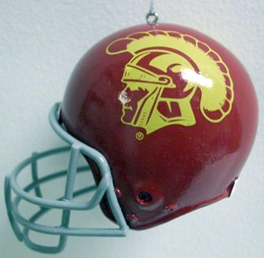 USC Mini Helmet Ornament
