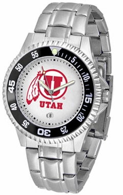 Utah Competitor Men's Steel Band Watch