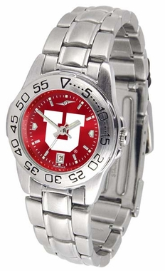 Utah Sport Anonized Women's Steel Band Watch