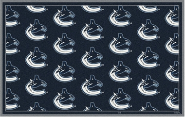 "Vancouver Canucks 7'8 x 10'9"" Premium Pattern Rug"