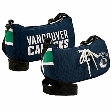 Vancouver Canucks Jersey Material Purse