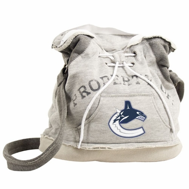 Vancouver Canucks Property of Hoody Duffle