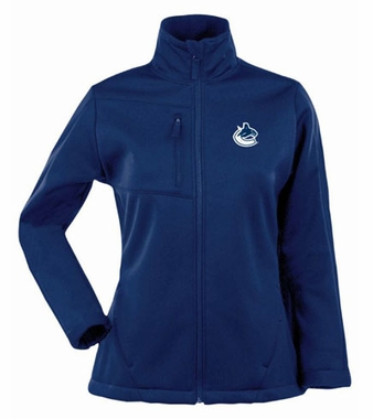 Vancouver Canucks Womens Traverse Jacket (Color: Navy)