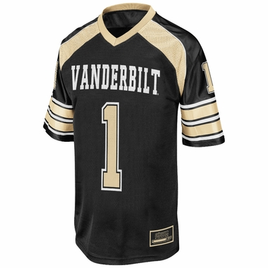 Vanderbilt Commodores NCAA YOUTH 2013 End Zone # 1 Football Jersey
