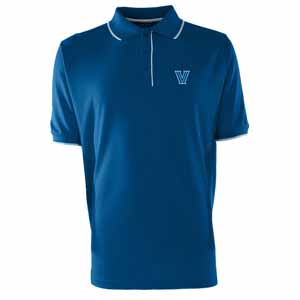 Villanova Mens Elite Polo Shirt (Color: Blue) - XXX-Large