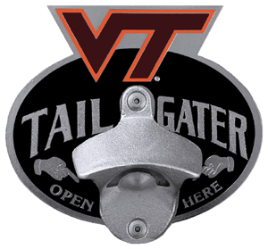 Virginia Tech Bottle Opener Hitch Cover