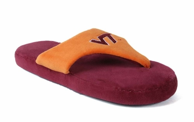 Virginia Tech Unisex Comfy Flop Slippers