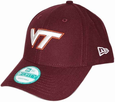 Virginia Tech Hokies 9Forty The League Adjustable Hat