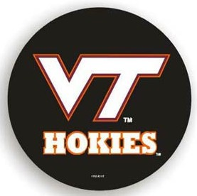 Virginia Tech Hokies Black Tire Cover - Standard Size